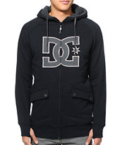 DC Maxmillions Black Hooded Tech Fleece Jacket