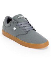 DC Mikey Taylor S TX Grey & Gum Skate Shoes