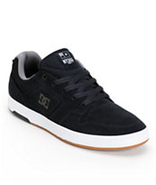 DC Nyjah Huston S Midnight, White, & Gum Skate Shoe