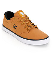 DC Nyjah Vulc TX Wheat Canvas Shoes