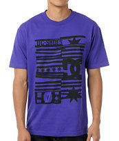 DC Roll Up Purple Tee Shirt