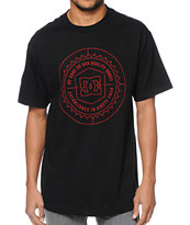 DC Sealer Black & Red Tee Shirt