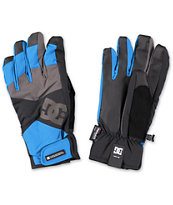 DC Seger Methyl Blue 10K Snowboard Gloves