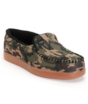 DC Villain SP Camo & Gum Slippers