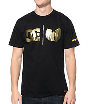 DC x Wu-Tang Clan Lock Up Black Tee Shirt