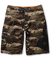 DGK Angle Camo 23 Board Shorts