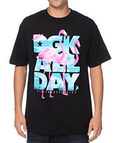 DGK Birds All Day Black Tee Shirt