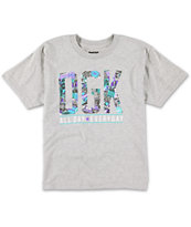 DGK Boys Collage Grey Tee Shirt
