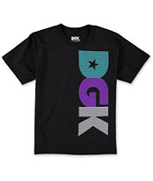 DGK Boys Noise Black Tee Shirt