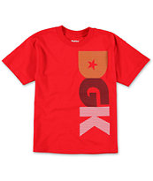DGK Boys Noise Red Tee Shirt