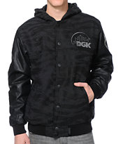 DGK Capital Black Tiger Camo Jacket
