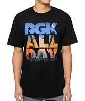 DGK City Life Black Tee Shirt