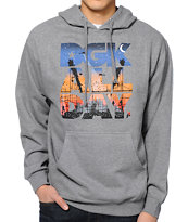 DGK City Life Heather Grey Pullover Hoodie
