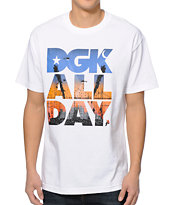 DGK City Life White Tee Shirt