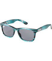 DGK Classic Black & Mint Tie Dye Sunglasses