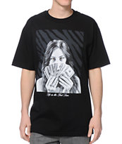 DGK Fast Lane Black Tee Shirt