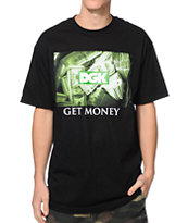 DGK Get Money Black Tee Shirt