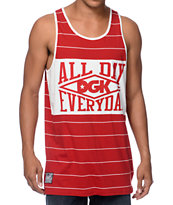 DGK Grand Slam Red Tank Top