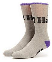 DGK Haters Grey Crew Socks