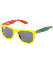 DGK Haters Rasta Sunglasses