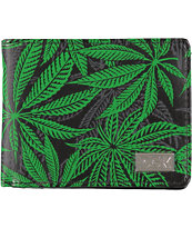 DGK Homegrown Black & Green Bifold Wallet