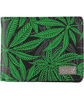 DGK Homegrown Black & Green Bifold Wallet