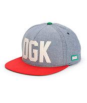 DGK Hustlin Snapback Hat