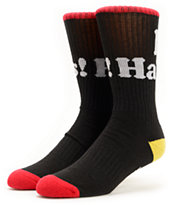 DGK I Love Haters Rasta Crew Socks