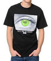 DGK I See Green Black Tee Shirt