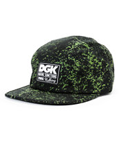DGK Making Something Black & Green 5 Panel Hat