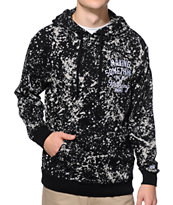 DGK Making Something Black Bleach Pullover Hoodie