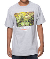 DGK Money Trees Grey Tee Shirt