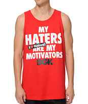 DGK Motivators Red Tank Top