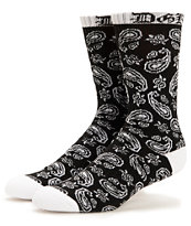 DGK OG Black Crew Socks