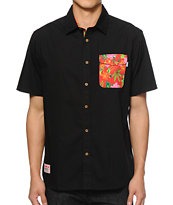 DGK Permanent Vacation Button Up Shirt