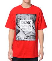 DGK Racks Red T-Shirt