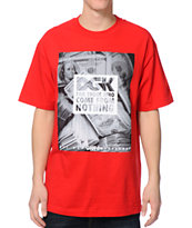 DGK Racks Red Tee Shirt