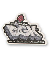 DGK Rose Sticker