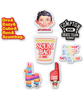 DGK Scumbag 4 DGK Sticker Pack