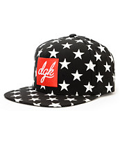 DGK Shooter Black Strapback Hat