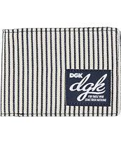 DGK Slugger Navy & White Bi-Fold Wallet