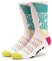 DGK Summer In The City Crew Socks