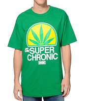 DGK Super Chronic Green Tee Shirt