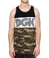 DGK Tempo Black & Camo Tank Top