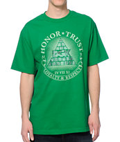 DGK The Seal Green Tee Shirt