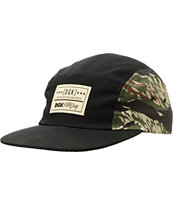 DGK Tigerstyle Black & Tiger Camo 5 Panel Hat