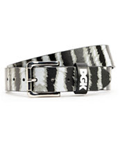 DGK Wildlife Zebra Black & White Belt