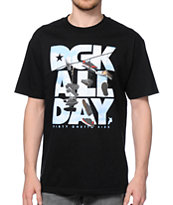 DGK Wire Black Tee Shirt