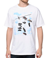 DGK Wire White Tee Shirt