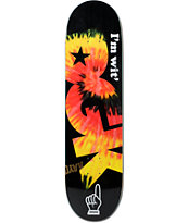 "DGK Wit 8.25"" Skateboard Deck"